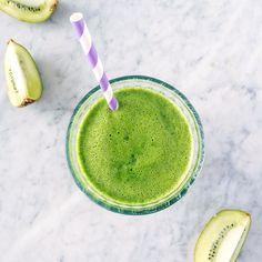 ricetta centrifugato verde con lattuga, kiwi, banana