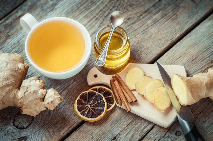 ricetta per il tè dimagrante alla cannella e al miele