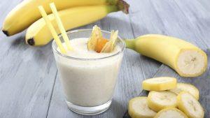 centrifugato pera banana e semi di chia