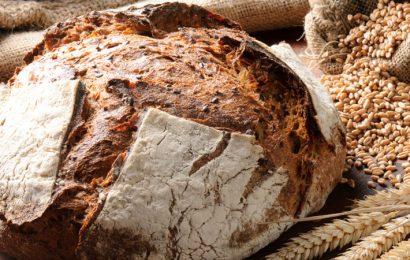 pane fatto in casa con pasta madre