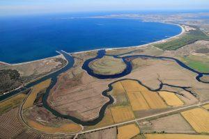 Valle del Tirso, Sardegna, dove si coltiva il Riso Venere